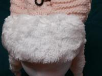 Winter fur lined knit hat. Nice and thick and warm. 5