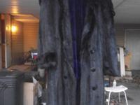 Custom made Mink/ sheared Beaver purple by Elan Furs of