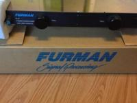 Furman PL-8 Power conditioner and light module. Like
