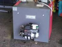 "100,000 BTU Crown CT ""Freeport"" Series Oil-Fired, Hot"