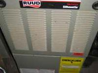 "For Sale USE gas furnace ""Ruud"" 80% 70,000 BTU down"