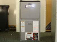 Comfort Aire 95% efficient furnace 12 year warranty
