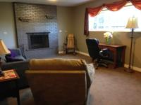 We have a furnished private 400 sq.ft. suite �