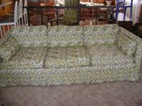 Vintage 70's couch - excellent condition- 50.00 2 green