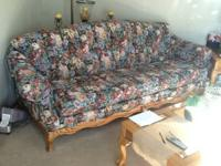 Charles sofa, chair, ottoman, coffee table and 1 end