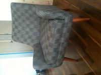 Selling my Room and Board Quinn chair + ottoman. Only 8