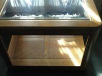 Various furnishings for sale. Real wood purchased from