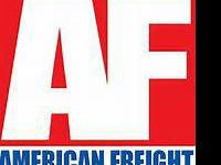 AMERICAN FREIGHT FURNITURE AND MATTRESS !!!!!  TWIN