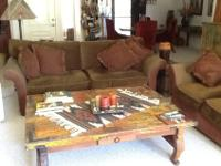 Plan: Custom Sofa and Love Seat, TV Cabinet,