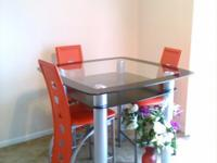 Sectional- $375 eachDining table w/4 chairs- $450Coffee