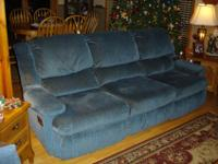 FOR SALE: Lane Action Recliner Sofa & & Loveseat. In