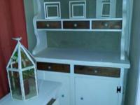 Buffet hutch cabinet 100 Vanity n sink 130 End tables