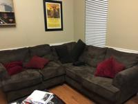 Will sell the chocolate sectional for $175.00 if you