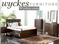 4 Pc Queen bedroom package $599Wyckes Furniture 4