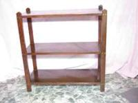 Shelf 29 ½ x 28 ½ x 12 $12.00 Mirror 34x 35 $18.00