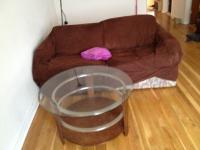I have a nice round coffee table for sale. In great