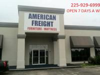 PUBLIC NOTICE   American Freight Terminal  Unclaimed