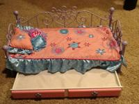 "1. Battat Day Bed for 18"" Doll American Girl/Our"