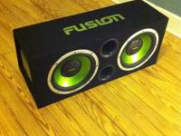 Selling my subs and enclosure. Best established Fusion