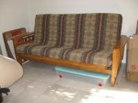 Like new heavy upholstery full size futon cover in