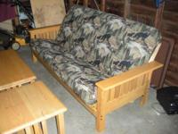 Description Three piece furniture set includes futon