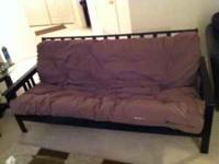 Futon Sofa bed great shape never slept on had it in a