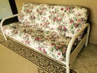 Futon With Extra Heavy Duty Mattress good condition,
