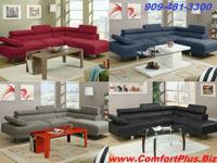 BRAND NEW 2-PC FUTURISTIC SECTIONAL SETS ON SALE. CHECK