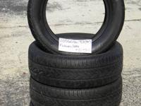SET OF 4 USED TIRE Fuzion HRI 2056016  	FOR MORE INFO