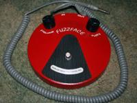 Fuzzface device for electric guitar. Creates a