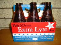 FOR SALE ----- 4 six pack carriers of collectible Fyfe