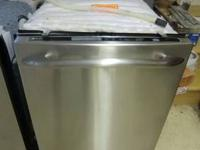 For Sale is a GE Profile Stainless Steel Dishwasher.