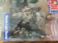 G.I. JOE`S  STILL IN THE PACKAGES ,     $50.00  OR BEST
