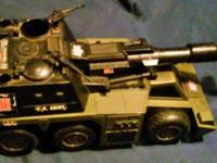 Hasbro G.I. Joe Army Tank - 2002 This item is used