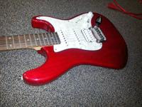 I'm selling a G&L Tribute Legacy Apple Red guitar. It's