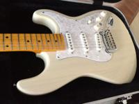 G&L S-500, American Made, LOADED see thru natural off
