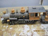 Several g scale locomotives, some rolling stock and