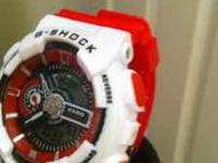 G-shock GA-110 TIME LIKE YOU HAVE NEVER SEEN IT; 12/24