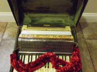Vintage G Tonetti Accordion Number Made In Germany w/