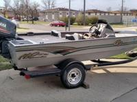 Nice G3 HP 180 Aluminum Boat With a Maxed Out 130 HP