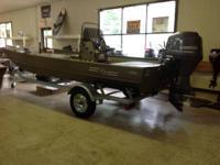 New G3 1756 center console alum fishing watercraft.