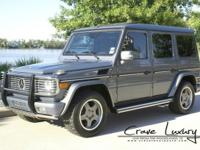 CRAVE LUXURY AUTO . This is a 2007 Mercedes Benz G55