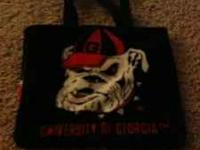 I have a Hand made ga bulldog purse . it's in awesome