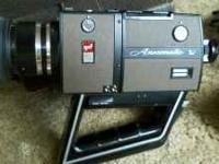 GAF Anscomatic Super 8 Movie Camera, with slow motion