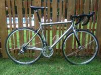 Excellent condition and ready for racing. ML frame
