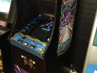This Galaga arcade equipment is in terrific condition