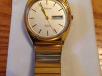 Galaxie Quartz Watch by Elgin - This watch has a