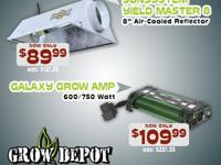 Galaxy Grow Amp 600/750 Watt ballast for $109.99Sun