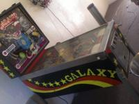 Selling my 1980 Galaxy four player pinball machine by