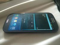 samsung galaxy sIII works perfectly with a cracked